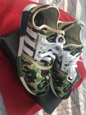 Adidas Bape nmd's size 10.5 for Sale in Orlando, FL
