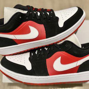 Jordan 1 Gym Red Black White Low Size 14 MEN for Sale in Los Angeles, CA