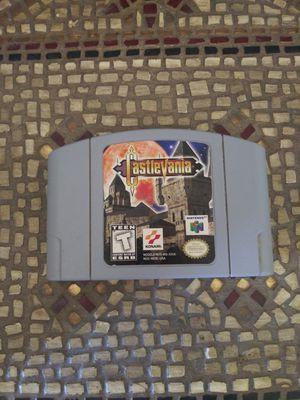 """CastleVania"" Nintendo 64 Game for Sale in Houston, TX"