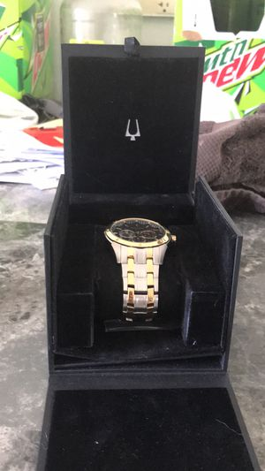 Iam selling two watches for 240 i still have the box for one of the watches iam selling one of the watches name brand is Bulova the outher is caravel for Sale in Fall Creek, WI