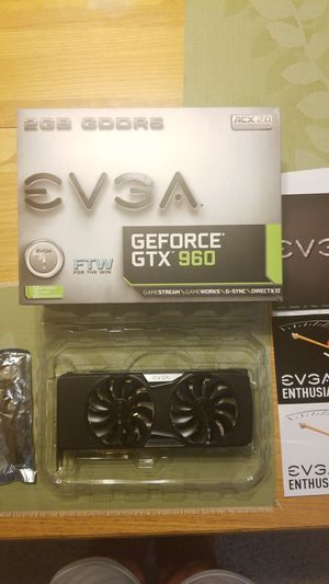 $100 EVGA 960FTW 2gb vram for Sale in Waterford Township, MI