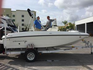 18.5 Bayliner Element open fisherman for Sale in Miami Gardens, FL
