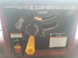 CHICAGO ELECTRIC SAW for Sale in Columbus, OH