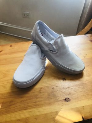 Vans Off The Wall White Skateboard Sneaker Loafer for Sale in Chicago, IL