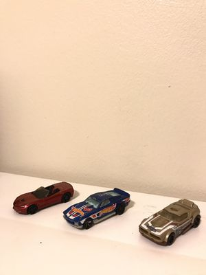 3 Loose Hot Wheels (Corvette, Guardian of the Galaxy 2, Blvd. Bruiser) for Sale in Long Beach, CA