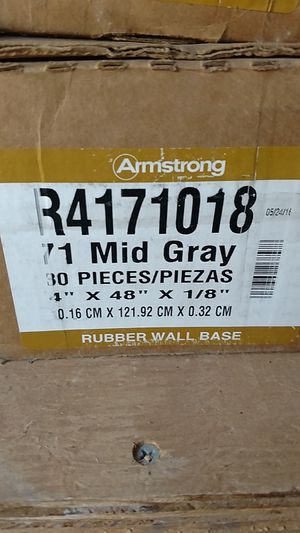 Rubber wall base for Sale in Costa Mesa, CA