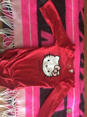 Baby girl hello kitty shirt for Sale in Washington, DC