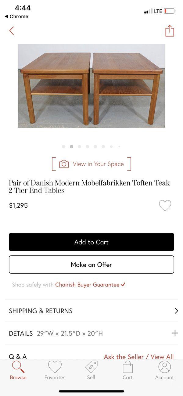 Danish End Table