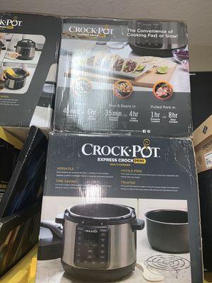 Crock-Pot 4-qt. Express Crock Pressure Cooker for Sale in Fort Lauderdale, FL