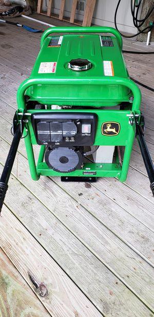 John Deere Portable Generator 6200w for Sale in Gulf Breeze, FL