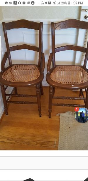 2 vintage chairs for Sale in Silver Spring, MD