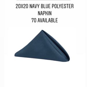 Blue Polyester Napkins for Sale in Cranston, RI