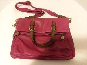 Fossil leather messenger bag for Sale in Winston-Salem, NC