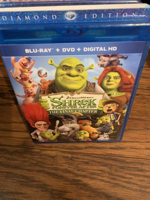 Shrek forever after the final Chapter Blu-ray and DVD for Sale in Indianapolis, IN