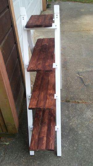 Rustic ladder tier shelf for Sale in Virginia Beach, VA