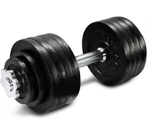 Yes4All DWP2Z 105lbs (2x52.5lbs) adjustable dumbbells for Sale in Austin, TX