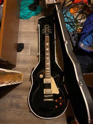 Epiphone Lea Paul black with cream trim. for Sale in Charlottesville, VA