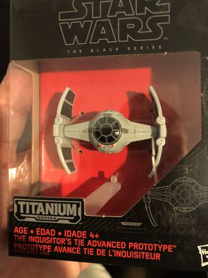 Star Wars Black Series Inquisitor's Tie Fighter for Sale in West Covina, CA