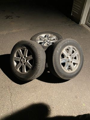 Jeep Tires 245/65r17 for Sale in Portland, CT