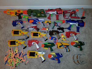 Nerf gun lot for Sale in Dundee, FL