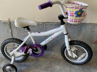 "12"" Girls Bike W/training Wheels for Sale in Portland,  OR"