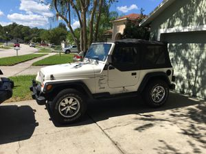 2000 Jeep Wrangler 6 Cyl - 5 Speed for Sale in Tampa, FL