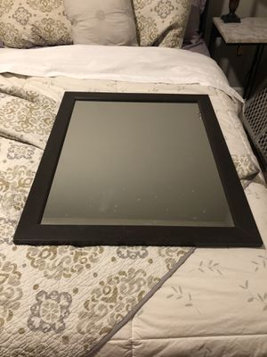 Dark brown rectangle mirror New for Sale in Gilbert, AZ