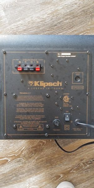 Klipsch a legend for Sale in Portland, OR