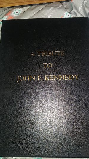 Tribute book to JFK for Sale in Tyler, TX