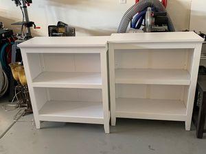 """Bookshelves (white) 14"""" deep 36"""" high 31"""" length for Sale in Glendale, AZ"""