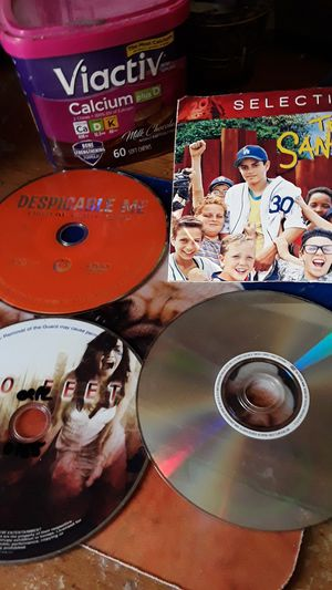 4 DVDS IN VINTON IA THE SANDLOT IS NEVER BEEN OPENED OR PLAYED for Sale in Vinton, IA