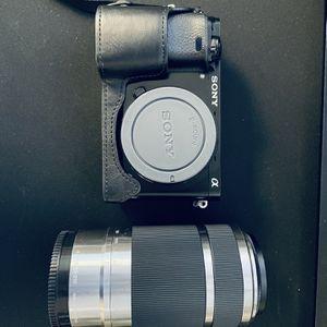 Sony A6000 Mirrorless Camera + Lens for Sale in Sacramento, CA