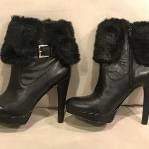 Leather boots 8.5 for Sale in Holmdel, NJ