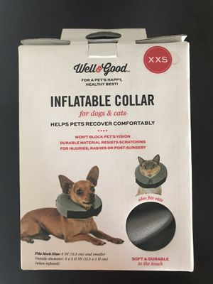 Inflatable Dog Collar XXS for Sale in Tempe, AZ