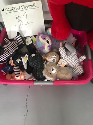 Plush toys and more for Sale in Lebanon, TN