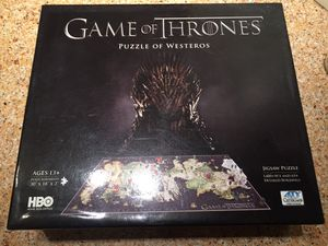 Game of Thrones 4D puzzle for Sale in Salem, MA
