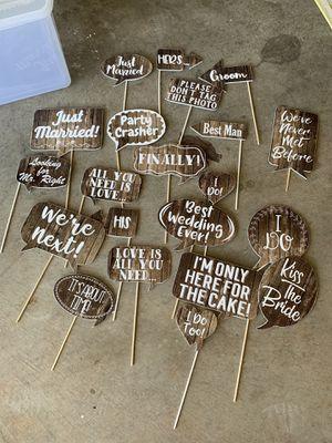 Wedding props. -what's left for Sale in Abilene, TX