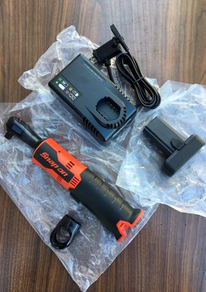 """Snap On 14.4 V 3/8"""" Drive MicroLithium Cordless Ratchet Kit. (((( $315 obo ))))❗️Brand New ❗️ for Sale in Riverside, CA"""