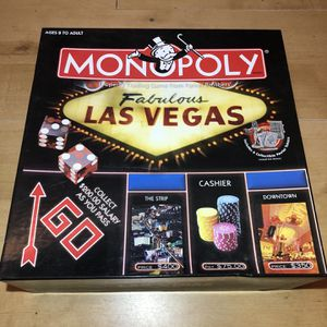 Las Vegas Monopoly (All Pieces Included) for Sale in Glocester, RI