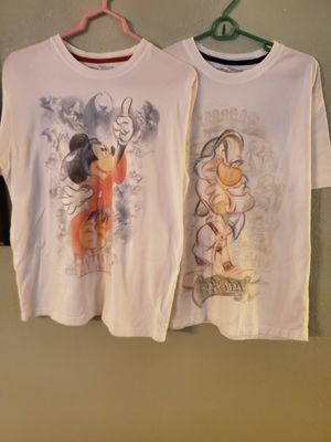DISNEY COLLECTION SHIRTS for Sale in Bremerton, WA