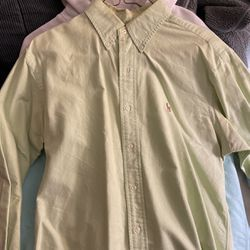 Green Polo Ralph Lauren Button Down Size M for Sale in Houston,  TX