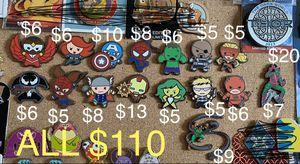 Disney Marvel trading pins for Sale in Montebello, CA