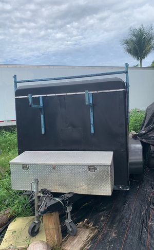 Enclosed trailer. Used normal wear. for Sale in West Palm Beach, FL