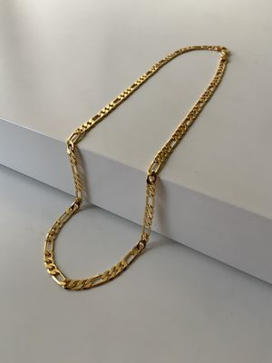 18k gold figaro chain for Sale in Los Angeles, CA