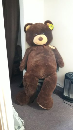 Really Big Teddy Bear needs Home. for Sale in Everett, WA