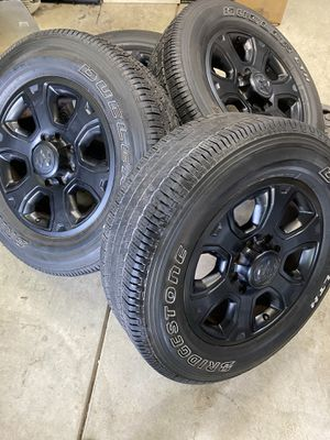 Ram 2500 wheels and tires for Sale in Elk Grove, CA