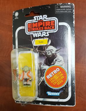 Kenner Star Wars Retro Collection Yoda 3 3/4 Action Figure Hasbro Vintage 2020 for Sale in Aurora, CO