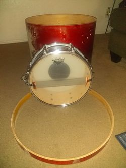 "22""Mapex Shell And Bass Hoop And 14 Snare for Sale in Phoenix,  AZ"