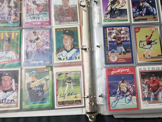Houston Astros Autographs for Sale in Houston,  TX