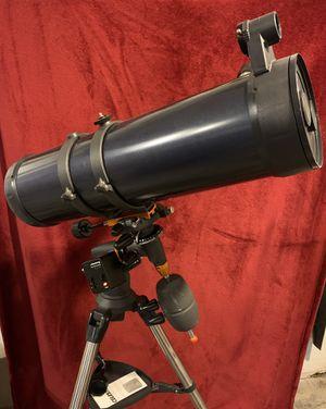 Celestron AstroMaster 130EQ Motor Drive Reflector Telescope for Sale in Federal Way, WA